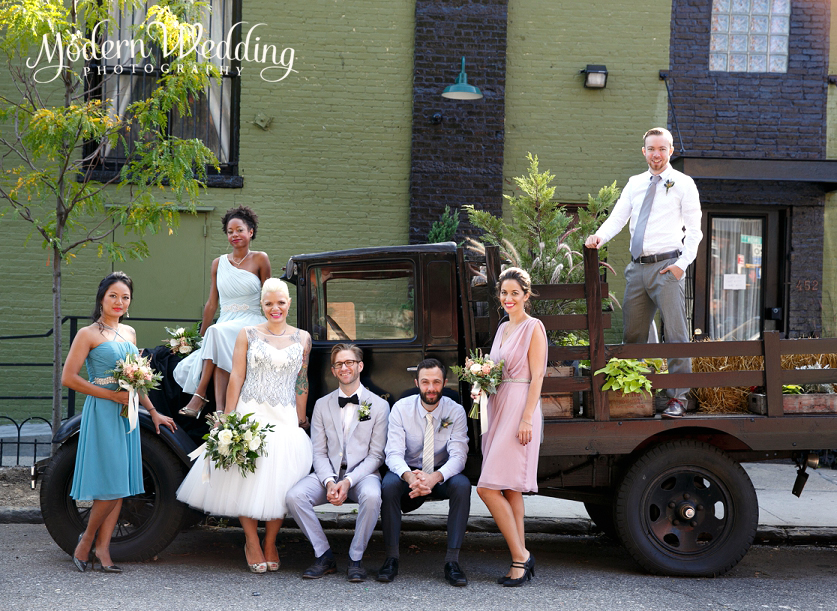 The Green Building Wedding Brooklyn Weddings